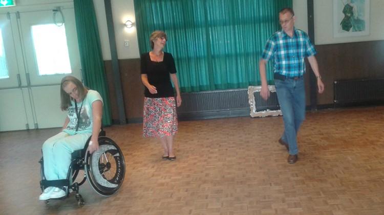"""Anja: """"Met rolstoeldansen vergat ik alles"""" afbeelding nieuwsbericht"""