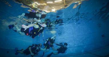 Afbeelding Voel je gewichtloos tijdens duiktherapie