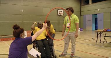 Afbeelding Vrijuit sporten met een meervoudige beperking