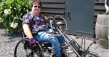 Afbeelding Mienke (26) zoekt nog een handbike maatje!