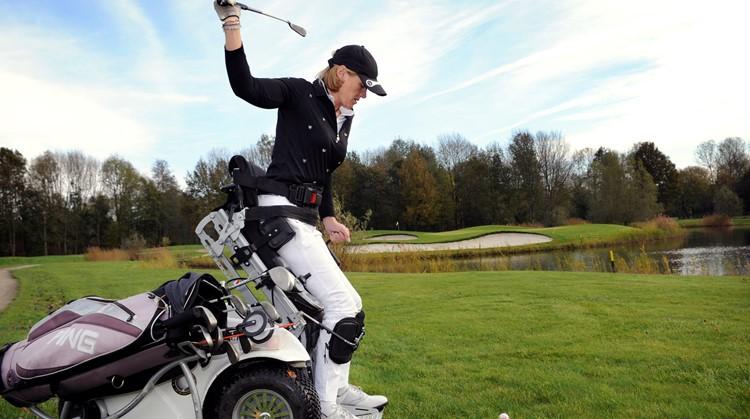 """Monique Kalkman: """"Golf is mijn passie en therapie"""" afbeelding nieuwsbericht"""
