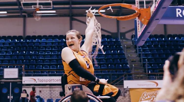 Flitsende aftermovie EK rolstoelbasketbal afbeelding nieuwsbericht