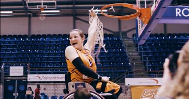Afbeelding Flitsende aftermovie EK rolstoelbasketbal
