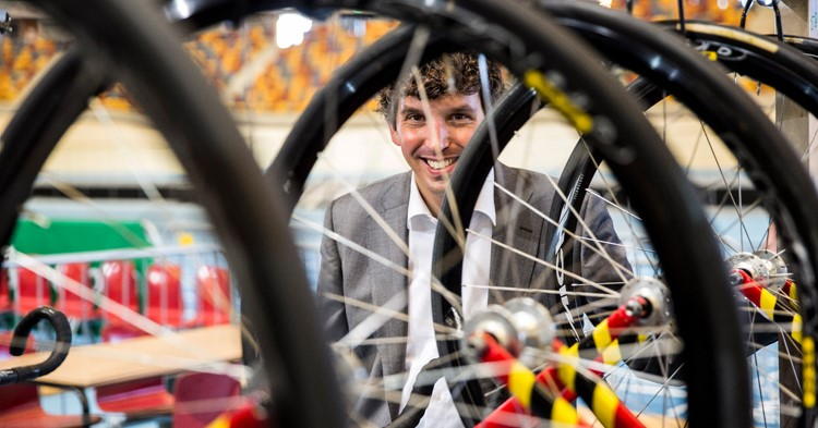 Apeldoornse wethouder Nathan Stukker: zien sporten is doen sporten! afbeelding nieuwsbericht