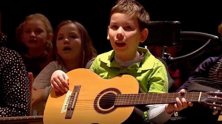 Orkest voor kinderen met en zonder beperking afbeelding nieuwsbericht