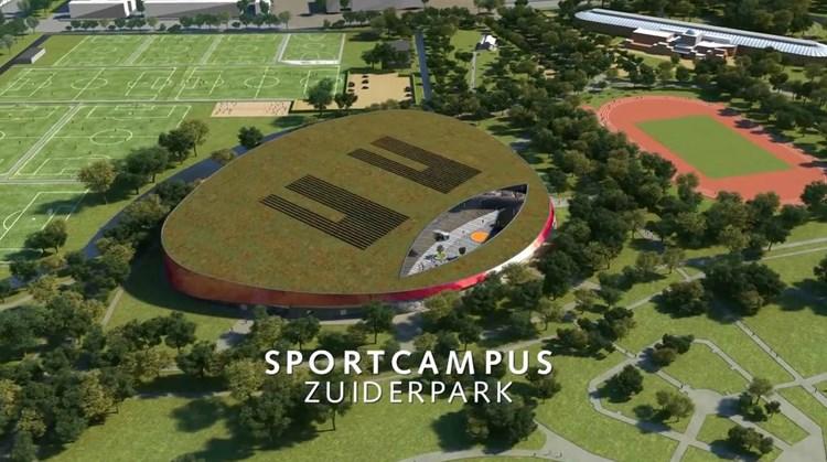 Sportmarkt in Den Haag afbeelding nieuwsbericht