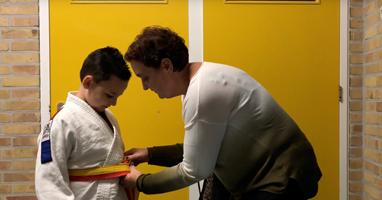 Afbeelding Dean wil beste judoka ter wereld worden