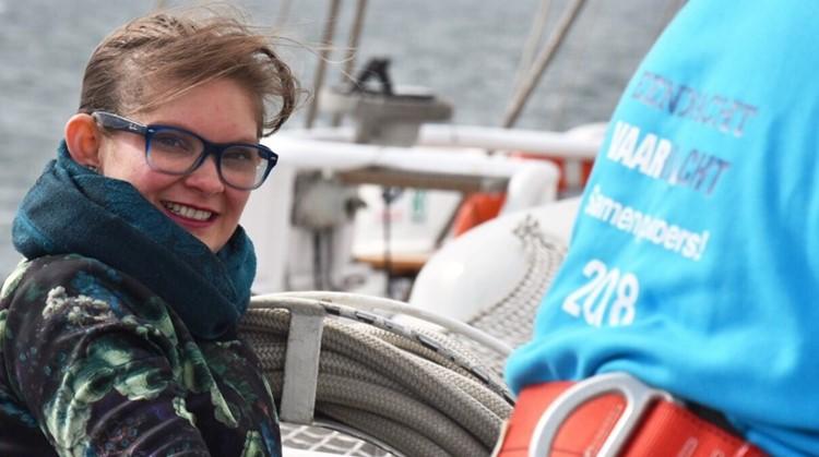 Barbara (31, chronisch ziek) komt in haar roeiboot op plaatsen waar ze nooit is geweest afbeelding nieuwsbericht