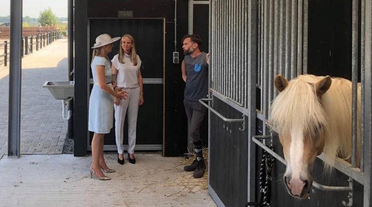 Koningin Máxima opent speciale manege afbeelding nieuwsbericht