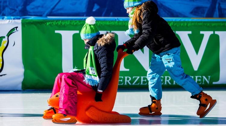 Schaatsen met een visuele beperking: het kan deze winter! afbeelding nieuwsbericht