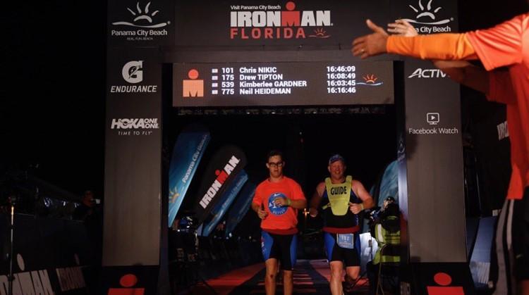 Chris eerste Ironman-finisher met Down afbeelding nieuwsbericht