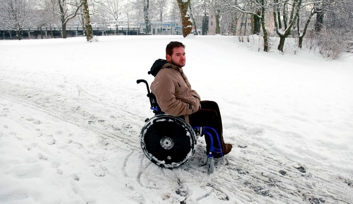 Winterweer tips voor rolstoelers afbeelding nieuwsbericht