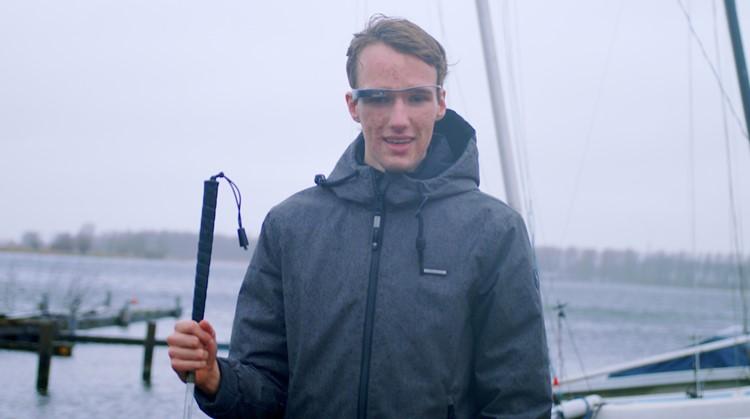 Een slimme bril en app als ogen voor blinden afbeelding nieuwsbericht