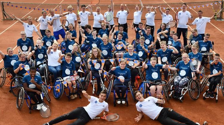 Gezelligheid bij Esther Vergeer Tenniskamp! afbeelding nieuwsbericht