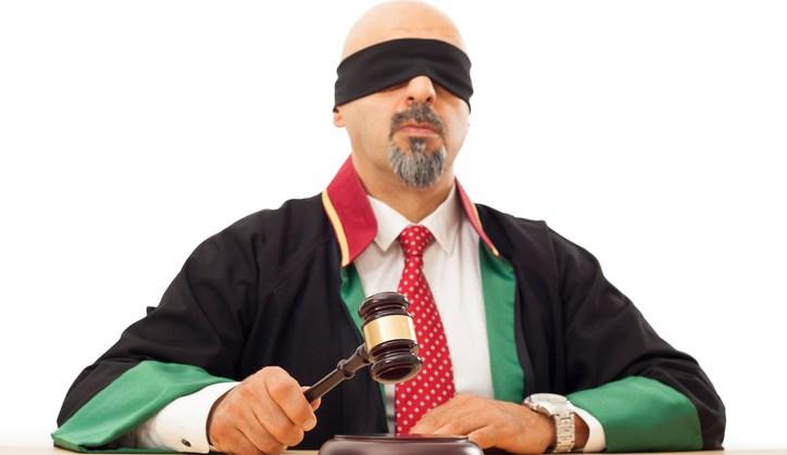 Sebastiaan Hermans (39) is de enige blinde rechter van Nederland. afbeelding nieuwsbericht