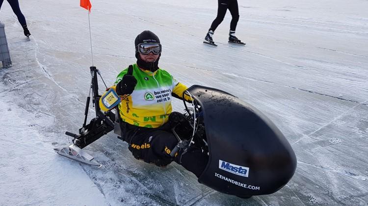 Met icehandbike maakte Ad zijn droom waar afbeelding nieuwsbericht