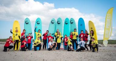 Afbeelding Surfen met een beperking