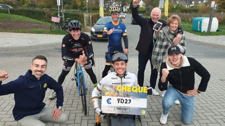 Tim de Vries handbiket Pieterpad in 2 dagen afbeelding nieuwsbericht