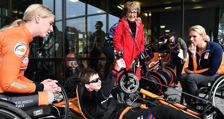 Test jezelf bij de Paralympisch Talentdag afbeelding nieuwsbericht