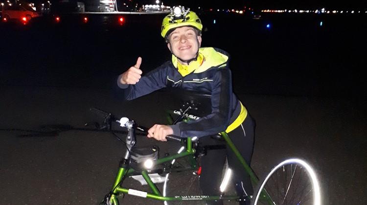 Koen wil steeds harder met de racerunner afbeelding nieuwsbericht