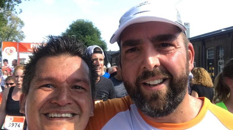 """Henri liep na herseninfarct de halve marathon: """"Kan niet, bestaat niet"""" afbeelding nieuwsbericht"""