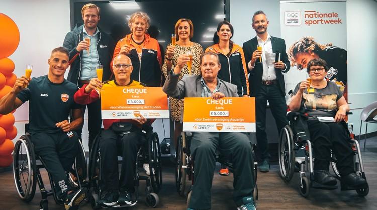 Jetze Plat verrast sportverenigingen in Nieuwegein afbeelding nieuwsbericht