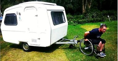 Afbeelding Lachen om #rolstoelhumor
