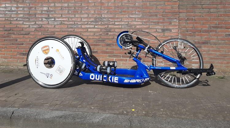 Geert rijdt mega sponsortocht met Uitleen handbike afbeelding nieuwsbericht
