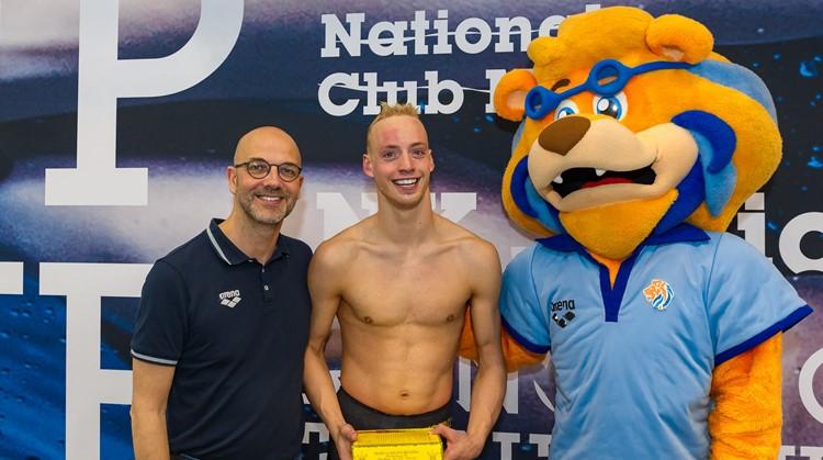 Thijs van Hofweegen zwemt naar nieuwe droom afbeelding nieuwsbericht