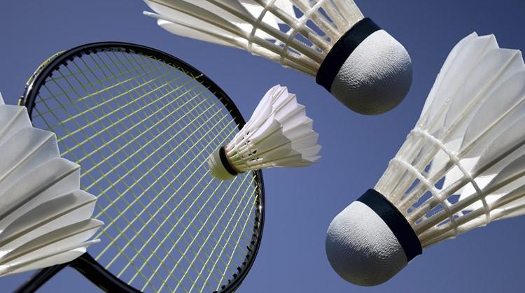 Test je reactiesnelheid tijdens de Nationale Sportweek met badminton afbeelding nieuwsbericht