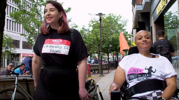 Keisha laat handicaps omarmen met modelijn afbeelding nieuwsbericht