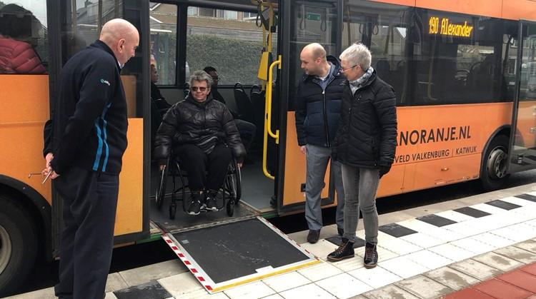 Steeds meer bushaltes toegankelijk gemaakt afbeelding nieuwsbericht
