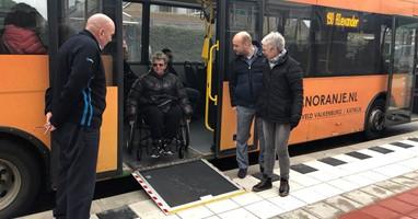 Afbeelding Steeds meer bushaltes toegankelijk gemaakt