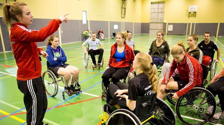 HAN zet nieuwe generatie begeleiders aangepast sporten in de startblokken afbeelding nieuwsbericht