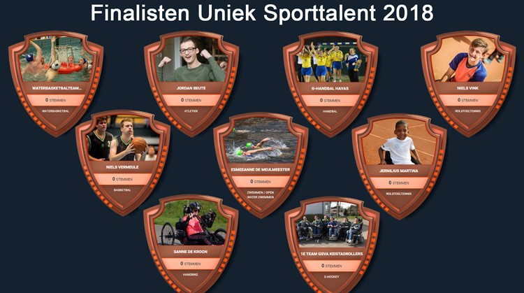 Finalisten Uniek Sporttalent 2018 zijn bekend! afbeelding nieuwsbericht