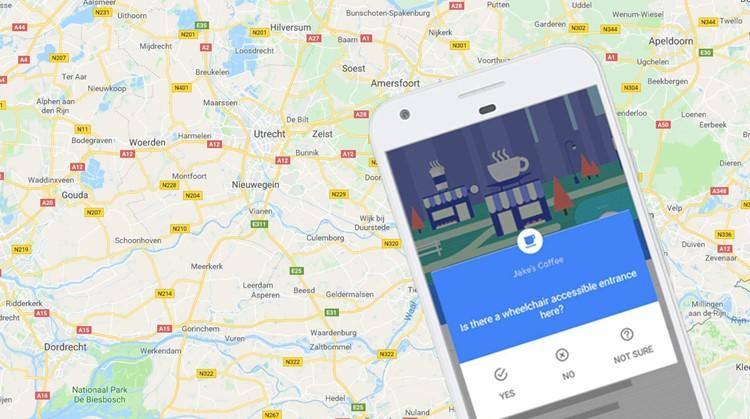 Een 19-jarig meisje zorgde ervoor dat Google Maps ook toegespitst werd op rolstoelgebruikers afbeelding nieuwsbericht