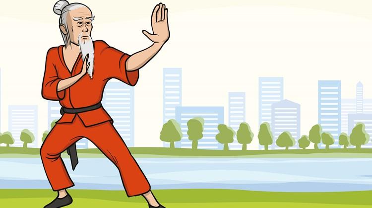 Met de stille bewegingen bij Chi Kung kun jij de hele wereld aan afbeelding nieuwsbericht