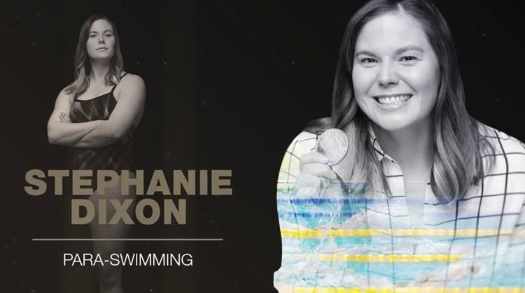 Zwemkampioene Stephanie Dixon (34) vertelt hoe daten met één been echt is afbeelding nieuwsbericht