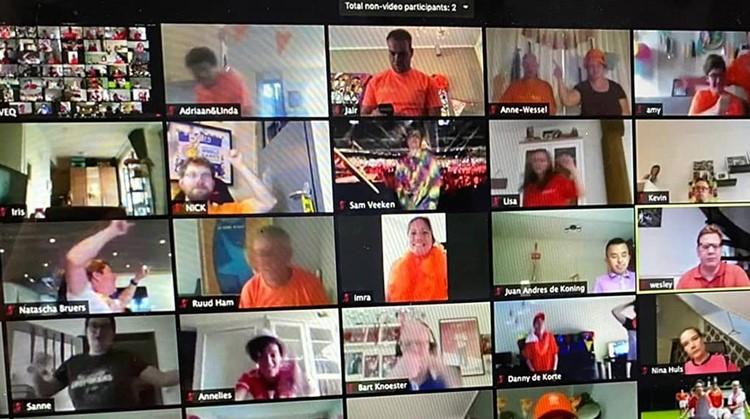 Online Special Olympics groot feest afbeelding nieuwsbericht