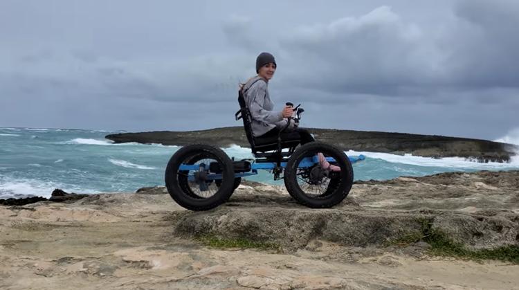 Youtuber maakt vette offroad rolstoel afbeelding nieuwsbericht