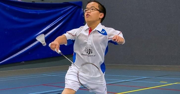 Bij badminton voor kleine mensen is alles 'normaal'. Ook de nethoogte. afbeelding nieuwsbericht