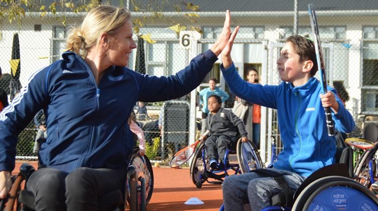 Kom kennismaken met rolstoeltennis! afbeelding nieuwsbericht