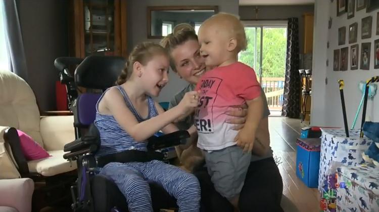 Lexie (9, cerebrale parese) redde haar broertje van verdrinking afbeelding nieuwsbericht