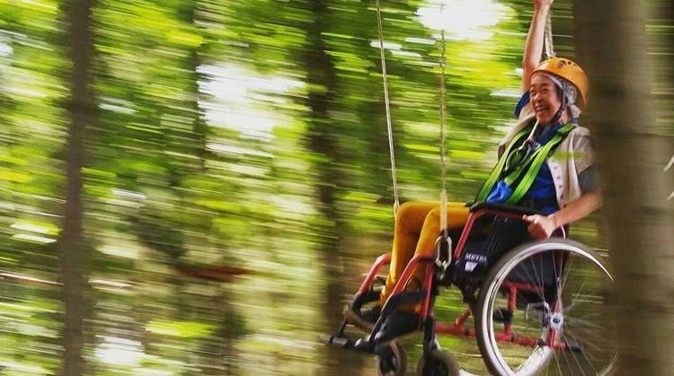 In je rolstoel door het Klimbos van Goirle afbeelding nieuwsbericht