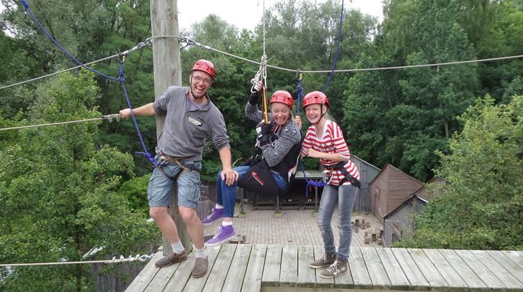 Geen hoogtevrees? Op dit hoogteparcours kun je klimmen met een rolstoel! afbeelding nieuwsbericht
