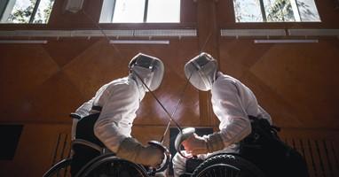 Afbeelding Sport van de week: rolstoelschermen
