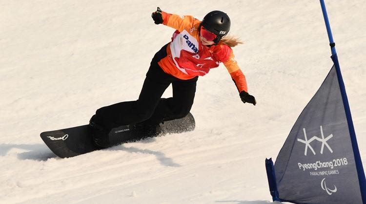 Lisa kan niet alleen heel goed snowboarden, ze heeft een verborgen talent! afbeelding nieuwsbericht