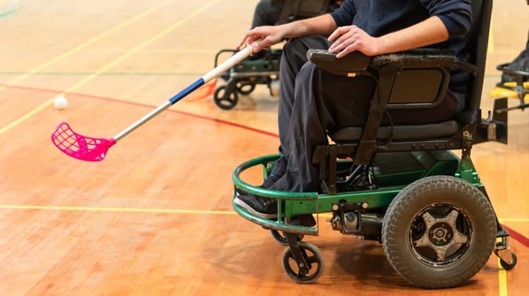 Leuke sporten in een elektrische rolstoel afbeelding nieuwsbericht