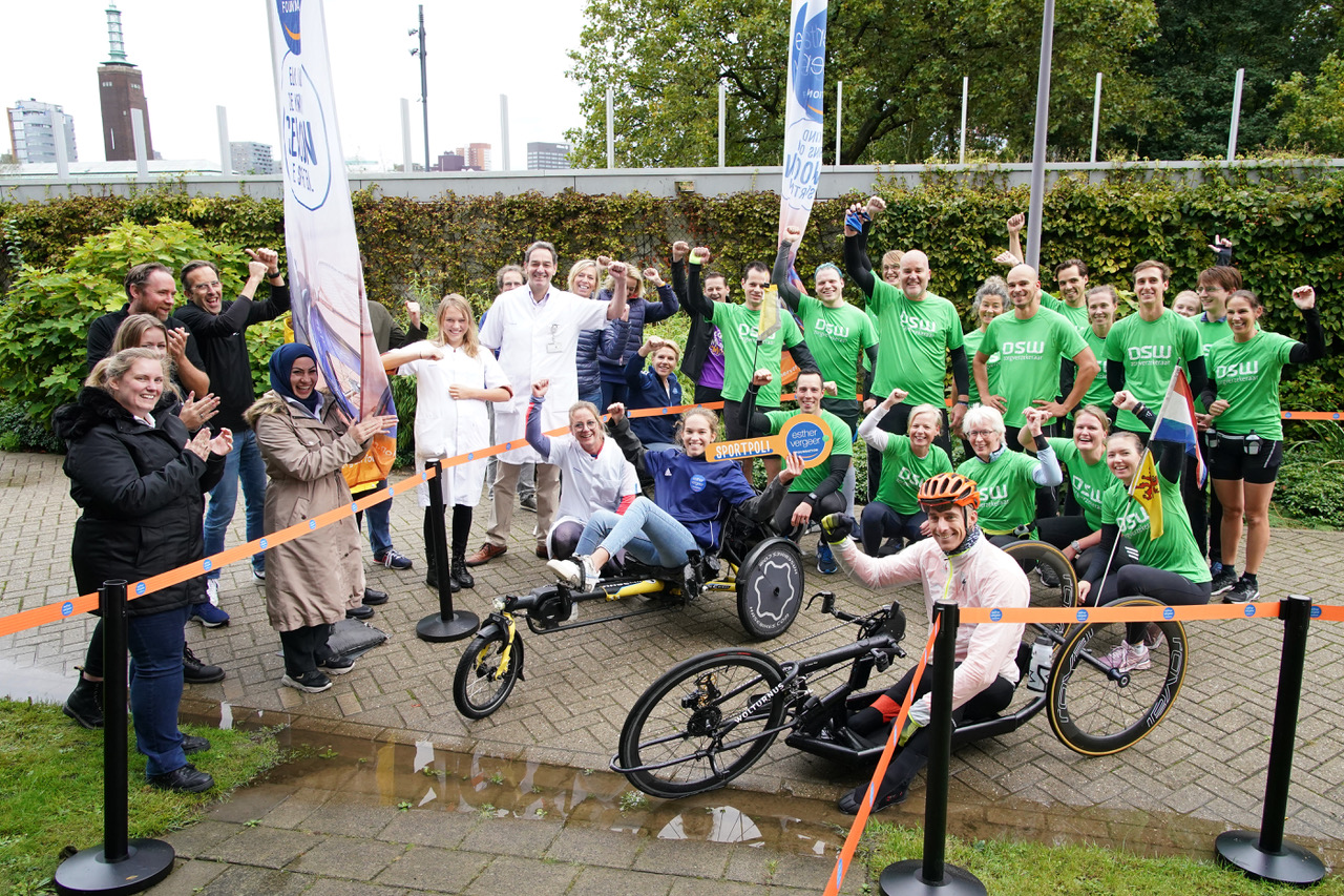 De opening van de Sportpoli Rotterdam - Foto Mathilde Dusol