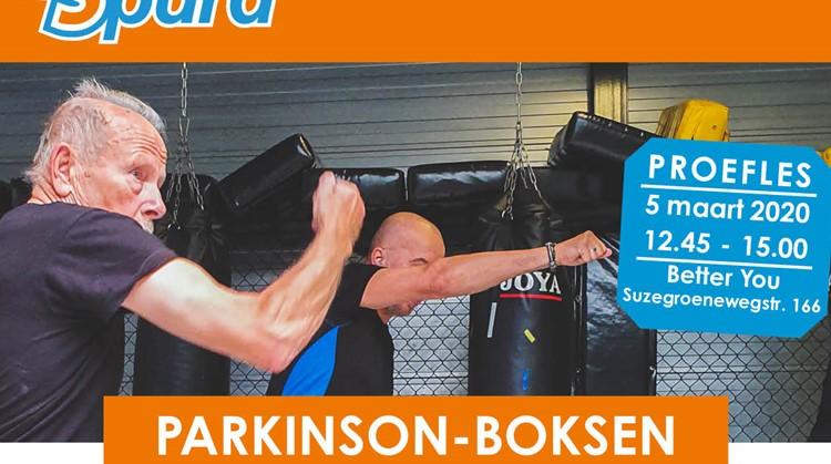 informatie bijéénkomst Parkinson-boksen: 5 maart 2020 in Purmerend afbeelding nieuwsbericht
